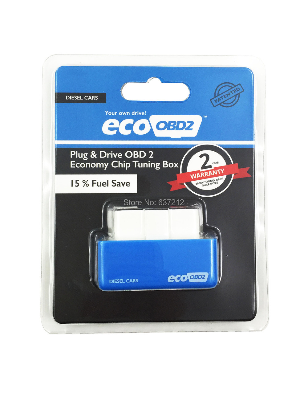 Car eco obd2 chip tuning box for diesel car ecoobd2 ecu for 2 box auto profondo