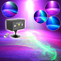 Professional 9w AC110v~240v Suny Watermark Laser Projector LED Stage Lighting Effect DJ Xmas Home Party Lighting Northern Light