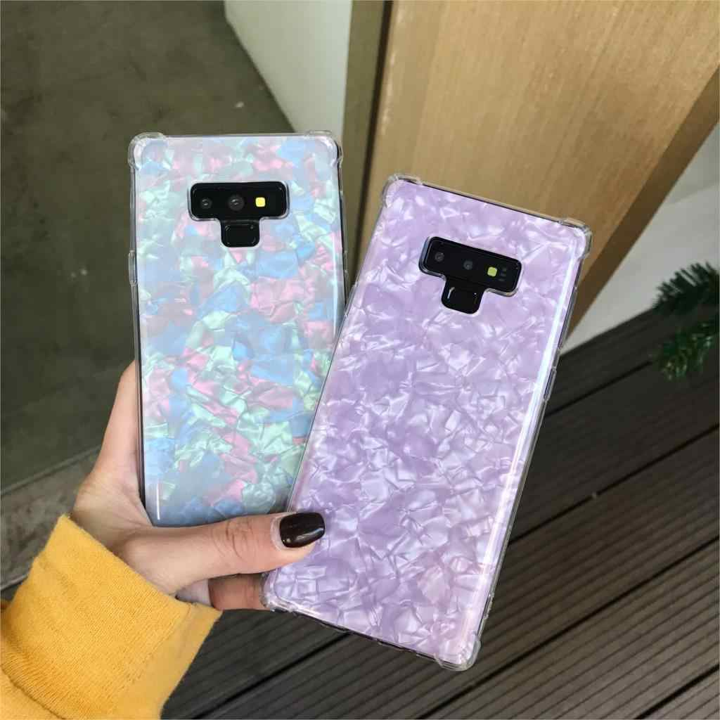 Anti-shock Marble Case For Samsung Galaxy Note 9 8 S9 S8 A5 A6 A7 A8 Plus J4 J6 J8 2018 iphone XS MAX XR X 7 6s SE Fundas TPU