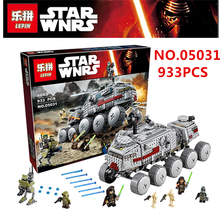 LEPIN 05031 933Pcs Star Wars Clone Turbo Tank Model Building Kit Minifigure Blocks Brick Toy Gift brinquedos legoes 75151
