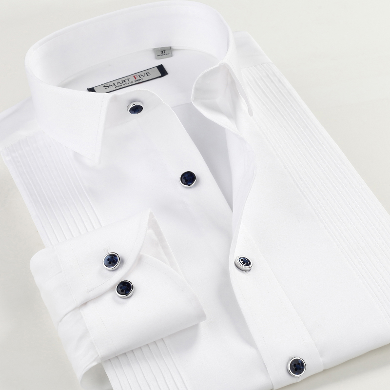 Aliexpress.com : Buy Smartfive Men's Long Sleeve Shirts Slim Fit ...