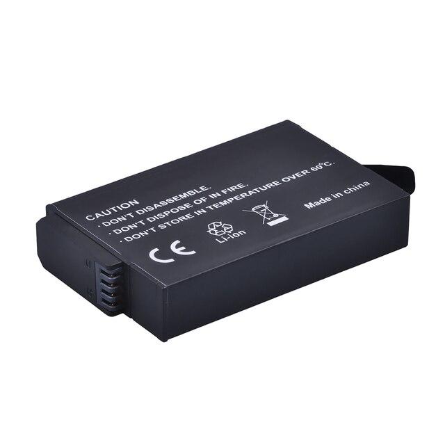 2 قطعة ل GoPro ASBBA-001 ASBBA 001 بطارية الكاميرا + شاحن USB مزدوج + التوصيل ل GoPro الانصهار ASBBA-001 360-درجة عمل Bateria