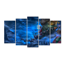 5 Pieces Wall Art Picture Gift Home Decoration Canvas Print Painting Christmas For Living Room Printed Free Shipping Abooly