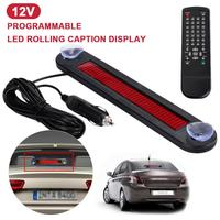 Vehemo Programmable Scrolling Board Car Subtitle Display Durable Auto LED Display Automotive Highperformance Presentation