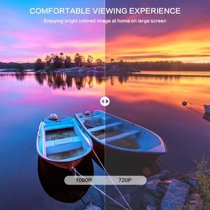 Image 4 - CRENOVA הכי חדש 1920*1080P אנדרואיד מקרן עבור 4k וידאו Led מקרן עם אנדרואיד 7.1 OS Wifi Bluetooth מלא HD Beamer