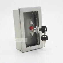 Поверхностного монтажа огонь гаражный подъёмник затвора роллер ворота раздвижные двери доступа станции кнопка включения