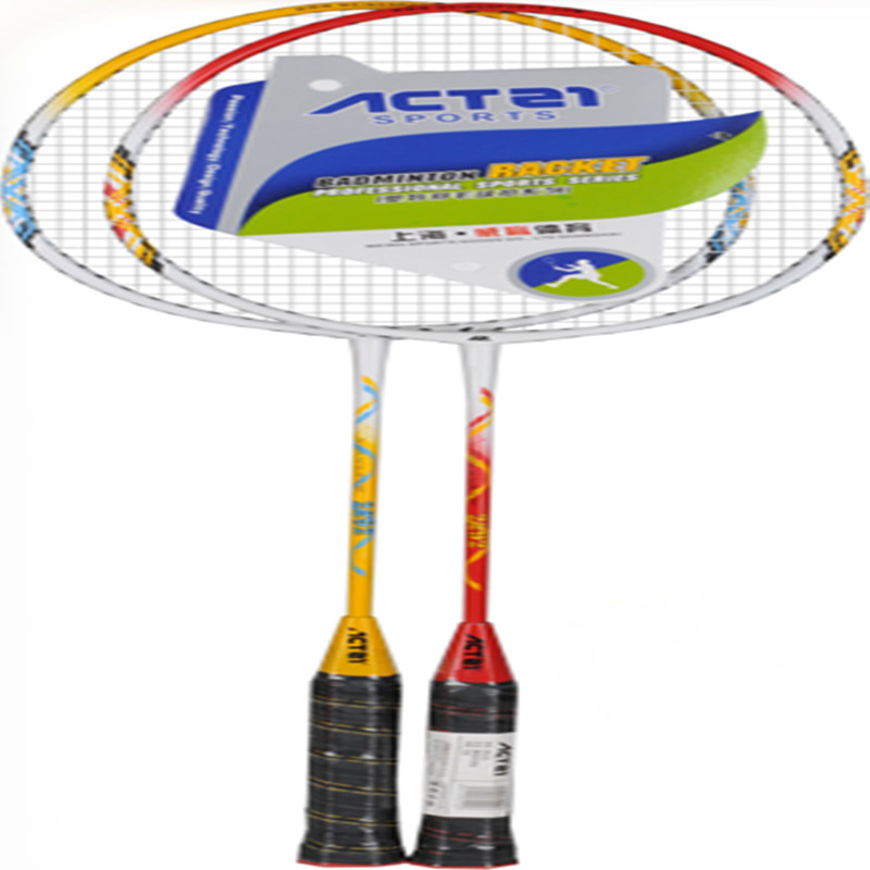 Super Light ACTEI Quality Feather Racket Double Color Optional