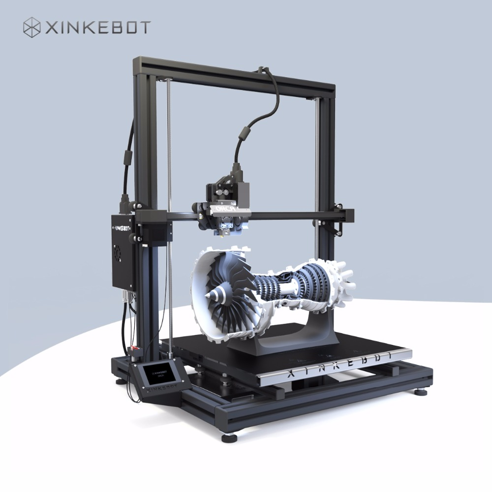 Large 3D Printer DIY Kit High Precision 3D Printer 0.05 Resolution Xinkebot Orca2 Cygnus 400*400*500 Print Size