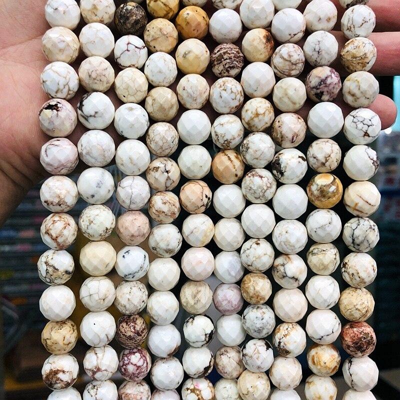 "4mm//6mm//8mm//10mm Multi Picasso Jasper Gemstone Round Ball Loose Beads 15.5/"""