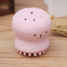 1 PC Pink Octopus  Facial Deep Pore Cleaning Brush Silicone Facial Skin SPA Tool Face Exfoliating Washing Brush Facial Skin Care