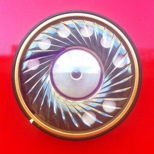 50mm 320 ohm alta fidelidade fone de ouvido alto-falante drivers para hd800 9500 diy fio ofc n42 ímã baixo alto falantes