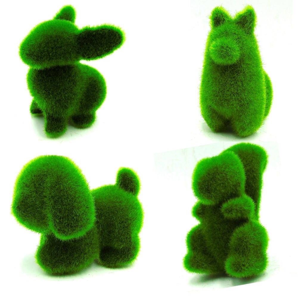 Mini Pot Simulering Botanik Zoologi Bonsai Mini Bonsai Gröna växter - Semester och fester