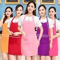 Schürze Koreanische mode schönheit salon kosmetikerin nägel Mütterlichen kleidung uniform schürze individuelles logo druck frauen Schürzen    -