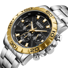 MEGIR Mens Watches Top Brand Luxury Militray Sport Quartz Watch Men Waterproof Male Clock Wristwatches Relogio Masculino