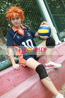 COSPLAYONSEN Haikyuu!! Karasuno High School Shoyo Hinata Volleyball Uniform Cosplay Costume Any Size