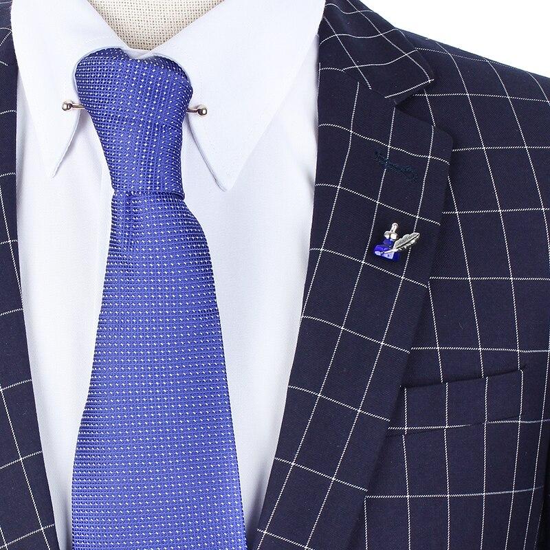 Синий чернильница клатч лацкан безопасной поддержки замок броши булавки ювелирные аксессуар для вашего шляпа рубашка