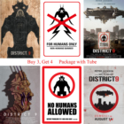 District 9 Posters M...