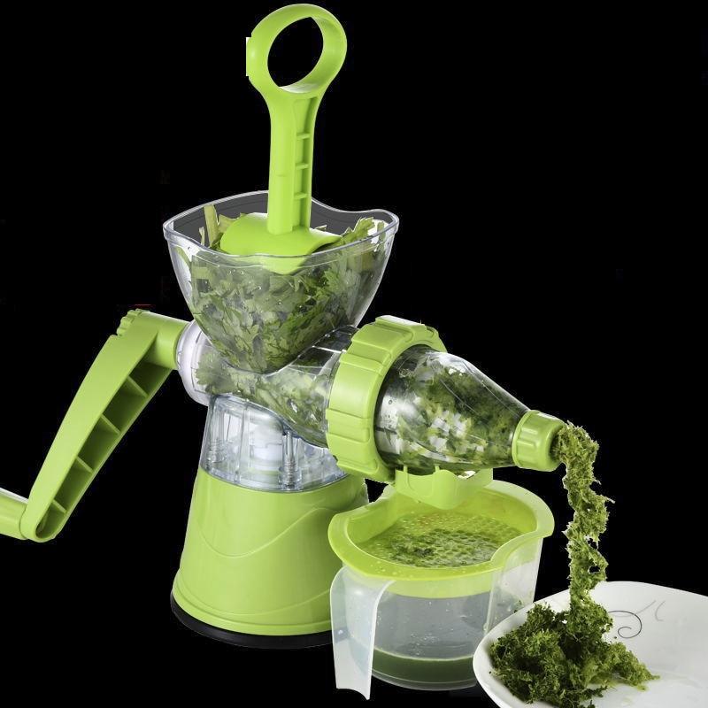 Household Desktop Manual Juicer wheatgrass /fruit /vegetables /Juice extractor Ice cream machine