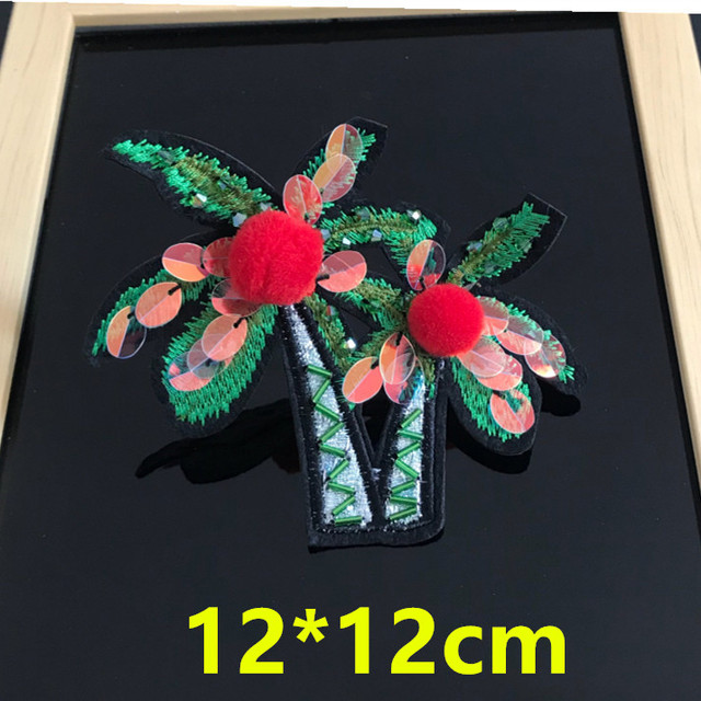 4 PCS Beaded Cactus Patches for Clothes