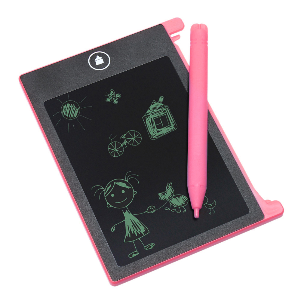 4 4 inch Digital LCD Drawing Notepad eWriter Electronic font b Kids b font Practice Handwriting
