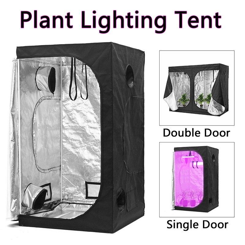 Крытый палатки для выращивания гидропоники парниковых расти завод освещения Светоотражающие палатка комнатной коробке дома