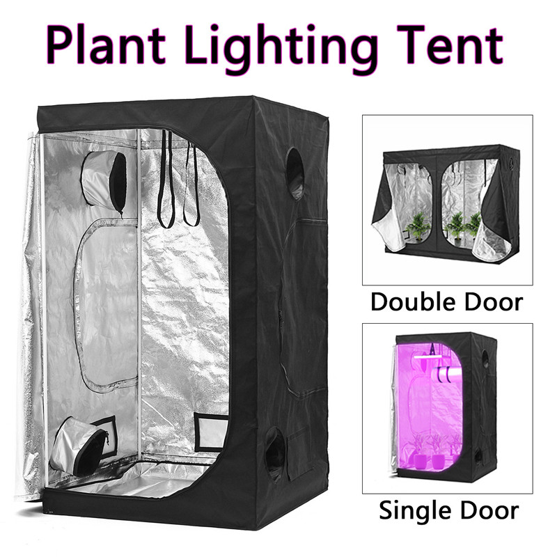 Indoor Growing Tents Hydroponic Greenhouse Grow Plant Lighting Reflective Tent Room Box Home