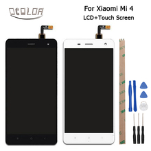 Ocolor 1920x1080 FHD For Xiaomi Mi4 M4 LCD Display+Touch Screen 5inch Screen Digitizer Assembly +Tools And Adhesive High Quality