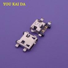 Jack-Socket-Connector S5312 S6310 Samsung Micro-Usb Mini 100pcs for Galaxy Core I8260/I8262/I9192/..