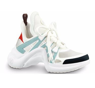 Mode hauteur augmentant Archlight Sneakers piste chaussures femme plate-forme épaisse Creepers été décontracté appartements Tenis Feminin