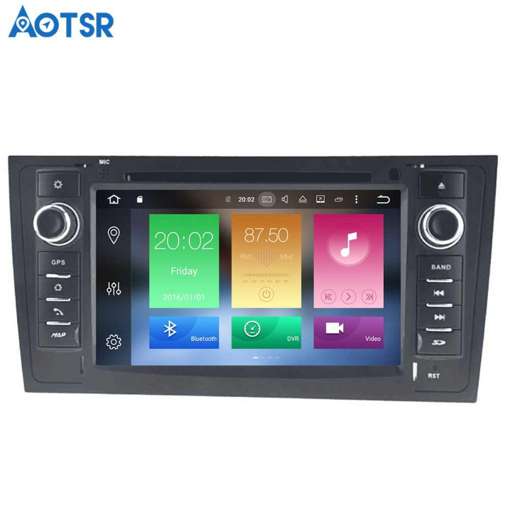 Aotsr A6 Android 8.1 de navegação GPS DVD Player Do Carro Para AUDI 1997-2005 multimedia 2 rádio din gravador 4 GB + 32 GB GB + 16 2 GB