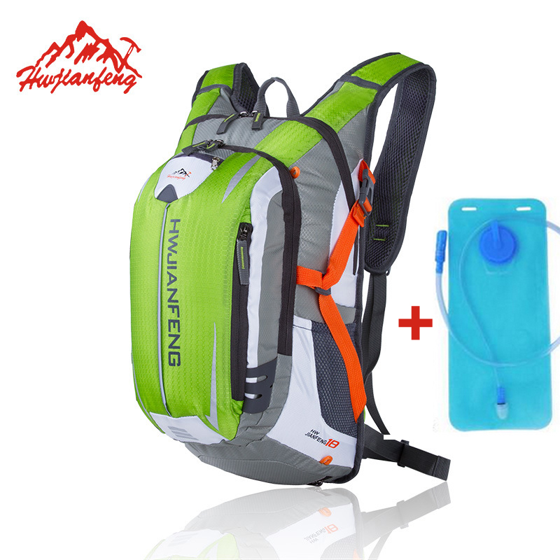 18L Sports Water Bags Bladder Hydration Cycling Backpack Out