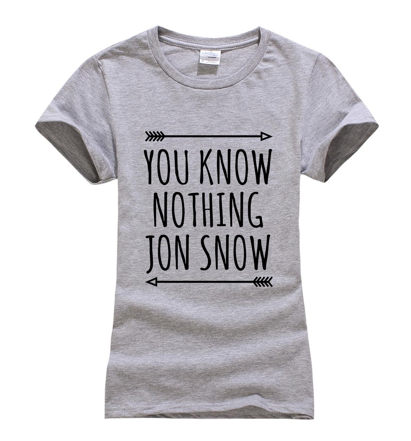 Hot Sale Game of Thrones t shirt women 2019 summer Print t shirt 100 cotton high