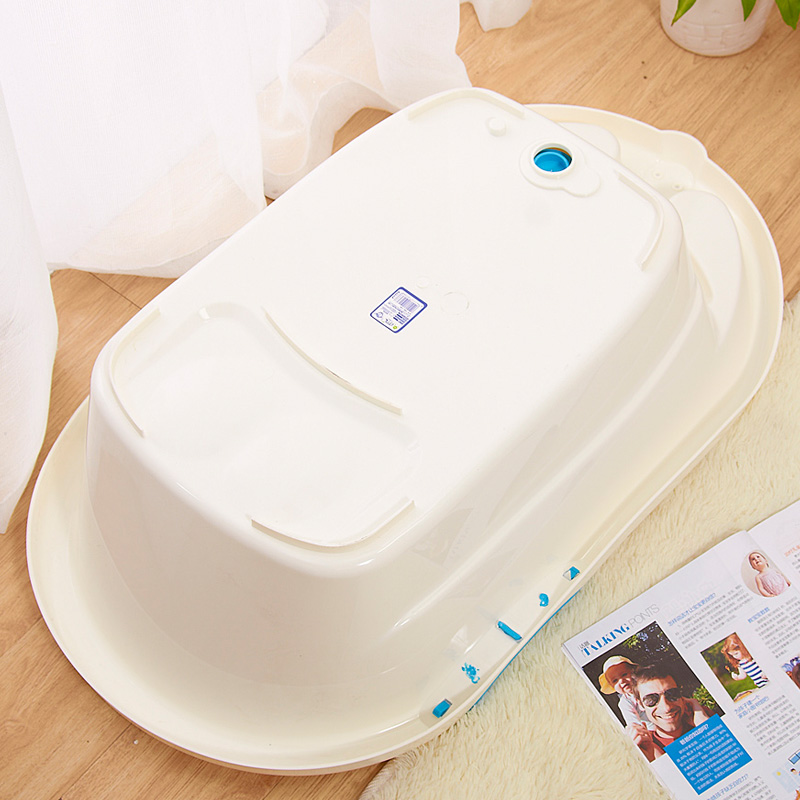 Free Shipping Newborn to Toddler Tub w/ Sling Baby Bathtub Large ...