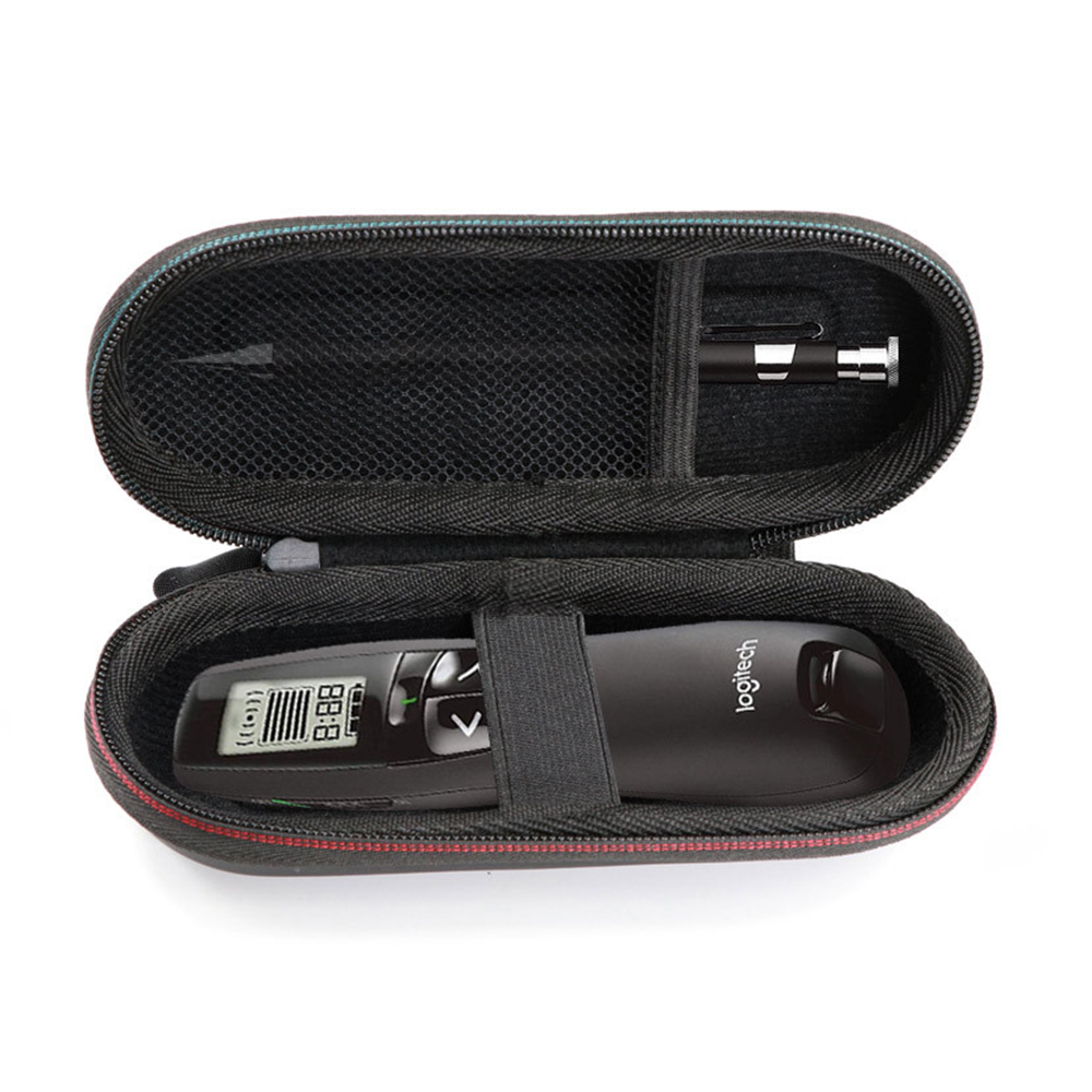 Case for <font><b>Logitech</b></font> Wireless Professional Presenter <font><b>R800</b></font> R400 Travel Hard EVA Protective Case Carrying Pouch Cover Bag (Case only) image