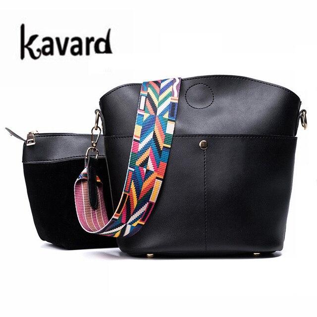 5cd9b0359d Nouvelle marque de luxe Designer sac seau femmes en cuir large couleur sangle  sac à bandoulière