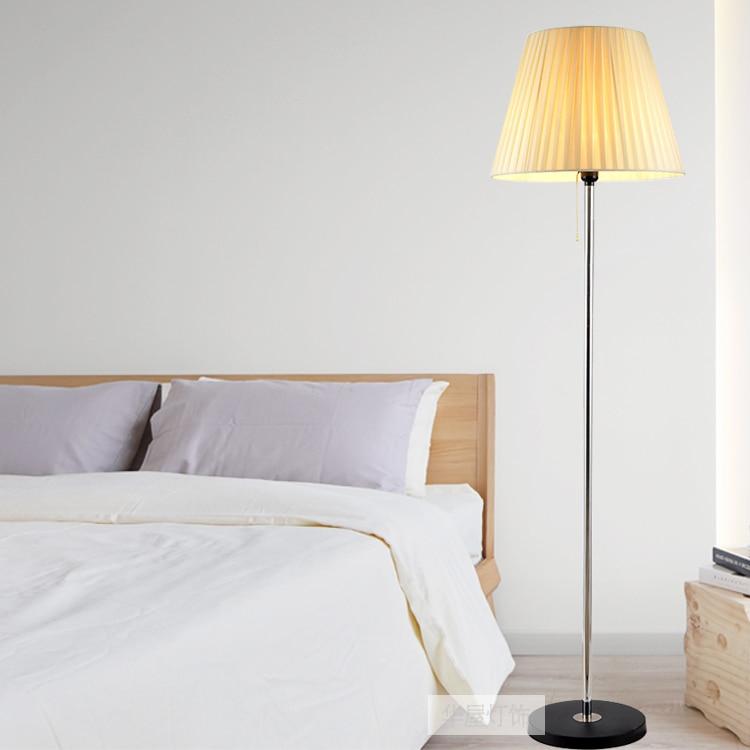 Moderne lamp woonkamer staande lamp slaapkamer vloer licht voor ...