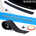 Rubber Rear Guard Bumpers Car Protector Trim Car-styling For BMW toyota Volkswagen audi lada opel Universal car accessories mats