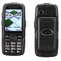 Shockproof Dustproof anti slip rubber dual sim flashlight big key power bank long standby army outdoor rugged mobile Phone M6