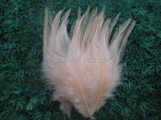 Wholesale 100 pcs beautiful Water pink  neck rooster feathers 10-15 cm  4 to 6 inches