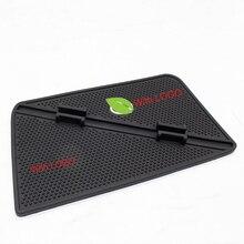 QHCP Latex Anti-slip Mat Phone Holder Mobilephone Dashboard GPS Navigation Non-slip Pad For Lexus ES200 250 300H 2013 2014 2015+