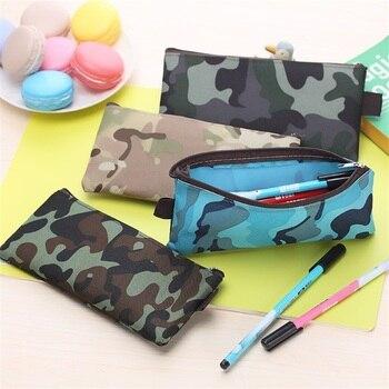 Cmouflage Canvas Pencil Case Office & School Supplies