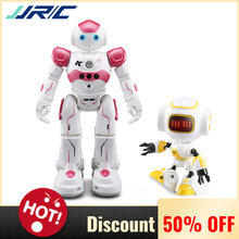 JJR/C JJRC R2 USB Charging Singing Dancing Gesture Control VS R9 Touch Control Model RC Robot for Kids Birthday Gift Presents(China)