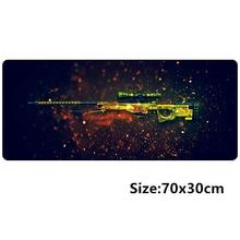 70*30cm CSGO Game Mouse pad L XL Large Gaming mousepad gamer mouse mat pad CS GO AWP Dragon lore AK47 M4A4 Rainbow Six