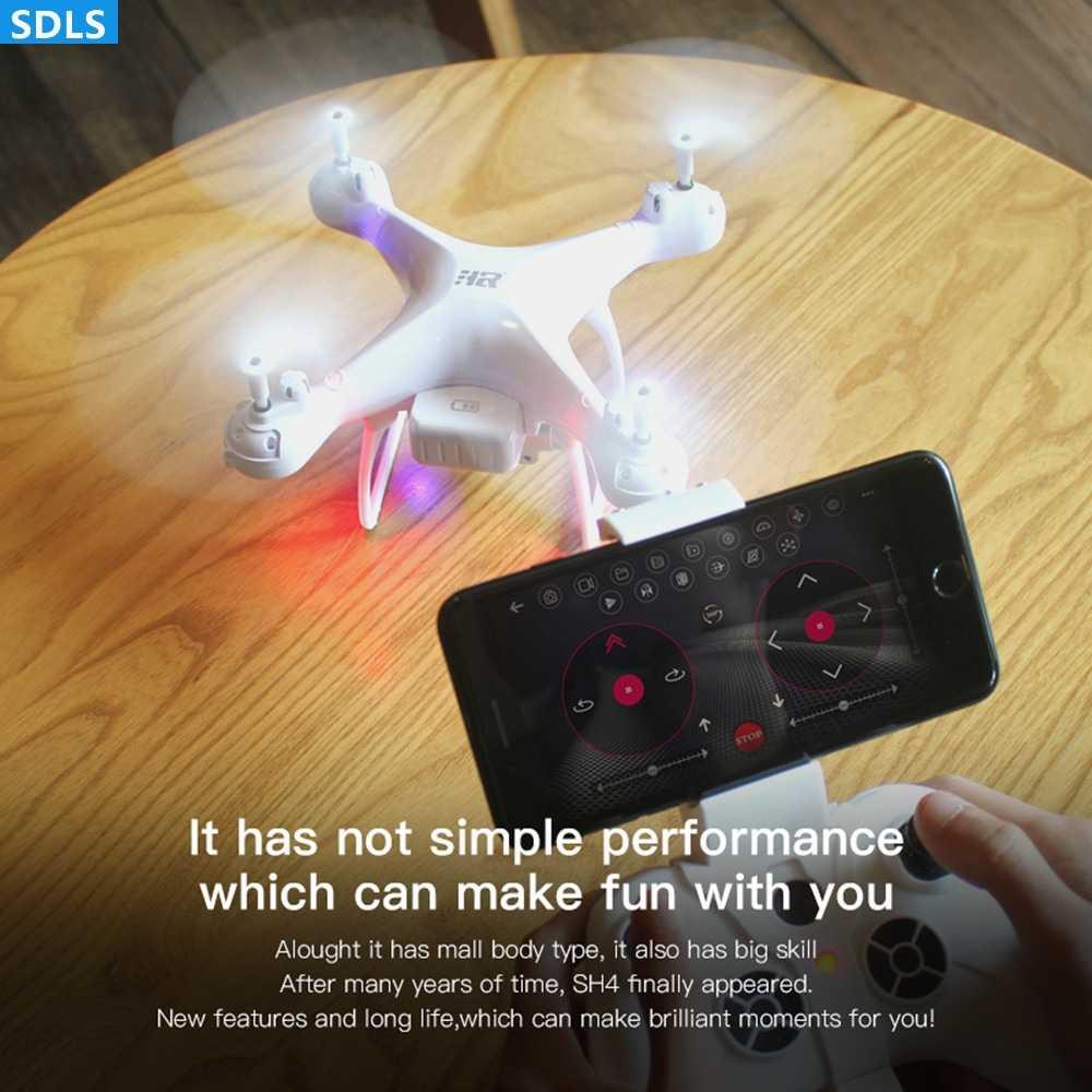 20 phút Bay 1080 P WIFI FPV HD Máy Ảnh Mini RC Bay Không Người Lái Quadrocopter Áp Suất Không Khí Giữ Một Chìa Khóa Trở Lại RC máy bay trực thăng UAV