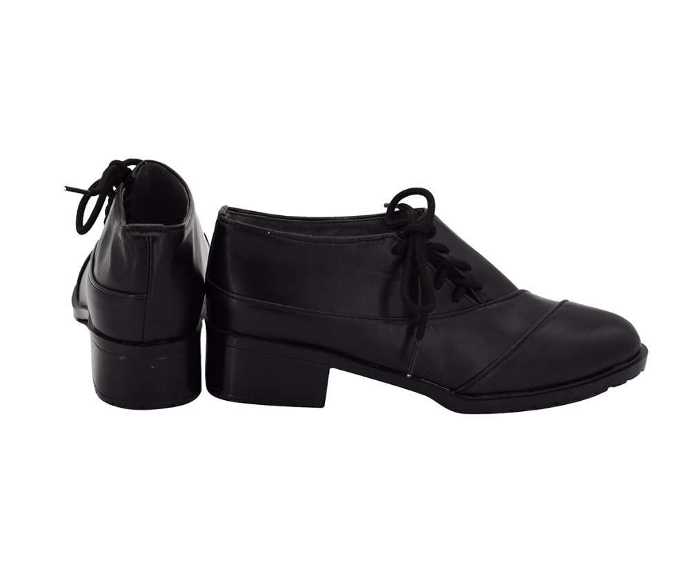 Vampire Knight Clan Kaname Cosplay chaussures bottes noires sur mesure toutes tailles - 4
