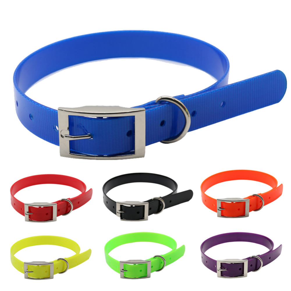 honden halsband Hoogwaardige TPU + Nylon nacht gloeiende reflecterende nacht Veiligheidskragen deodorant waterdichte kraag dierbenodigdheden