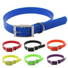 pet dog collar High quality TPU+Nylon night glowing Reflective night Safety collars deodorant waterproof collar pet supplies