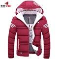 Зимняя куртка Людей вскользь теплый хлопок вниз пальто мужские куртки и пальто сгущать верхней одежды бренда одежды Азии размер M ~ 5XL