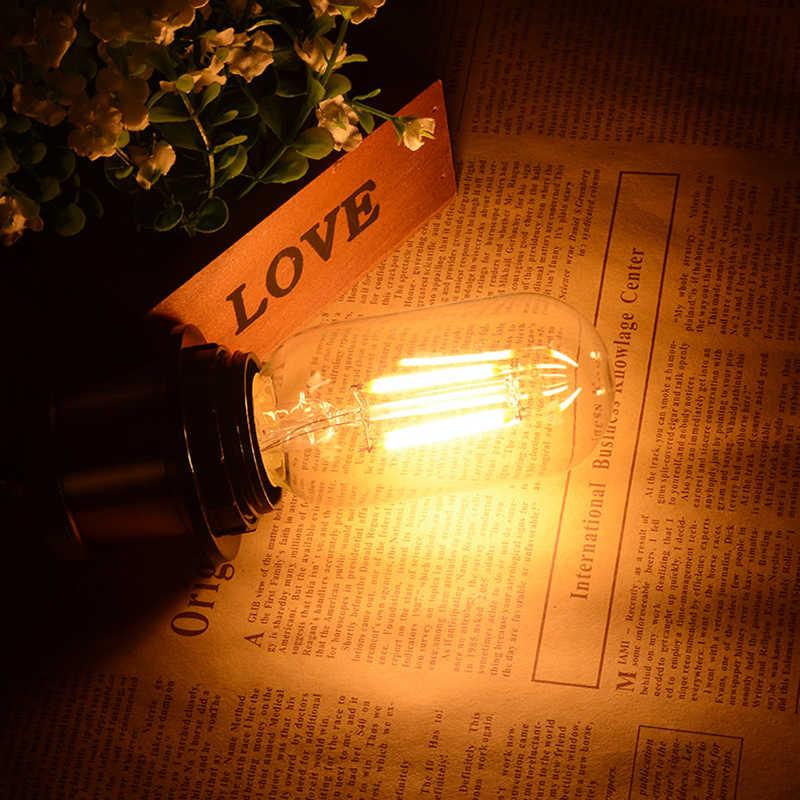 LED ampoule à Filament E27 rétro Edison lampe 220V E14 Vintage bougie lumière E27 E14 réel watt 2W 4W 6W 8W Vintage LED Edison ampoule