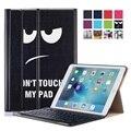 NEW! стенд Фолио Смарт-Чехол Для iPad Pro 9.7 Случае ИСКУССТВЕННАЯ Кожа крышка iPad Air 3 Планшетный Печатные Чехол с Клавиатурой 12 Цветов